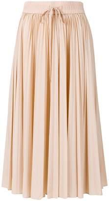 RED Valentino pleated midi-skirt