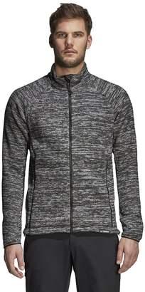 adidas Outdoor Men's Outdoor Knit Fleece Jacket