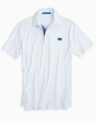 Southern Tide Florida Gators Plaid Placket Polo Shirt