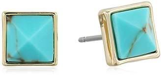 Vera Bradley Casual Glam Gold Stud Earrings