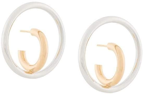 Saturn Blow Large earrings