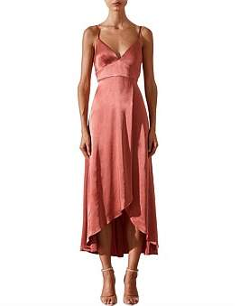 Shona Joy Giselle Cocktail Midi Dress