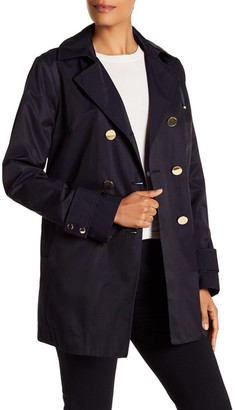 Tahari Angelina Pleated Back Trench Coat $220 thestylecure.com