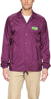 Obey Men's Better Days Nylon Coaches Jacket