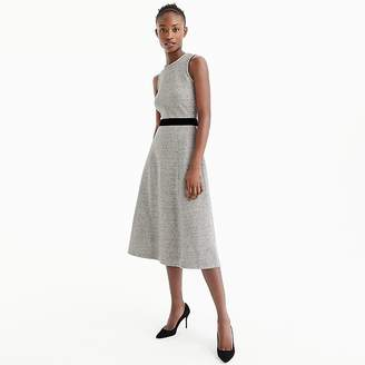 J.Crew A-line dress with velvet tie