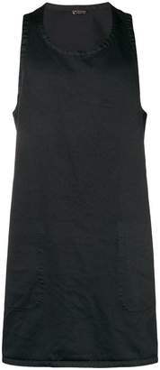 Comme des Garcons open back long tank top
