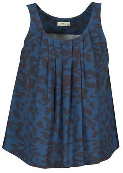 LOLA Cosmetics CUBA women's Vest top in Blue