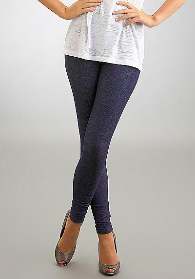 HUE Denim Leggings Daywear