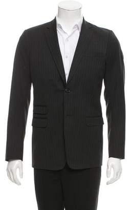 DSQUARED2 Striped Wool Blazer
