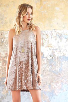 Abbeline Velvet Swing Dress