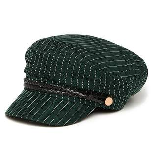 David & Young Striped Lieutenant Hat