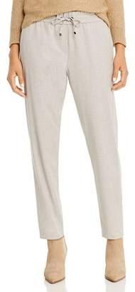 Marella Cleo Tonal Side-Stripe Pants