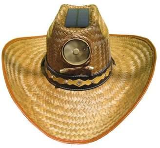 Kool Breeze Solar Hat Kool Breeze Solar Cooling Straw Hat - Cowboy w. Band (XL)