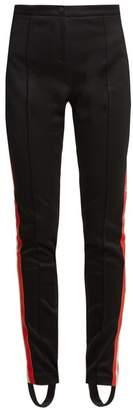 Gucci Striped Side Detail Technical Jersey Trousers - Womens - Black Multi