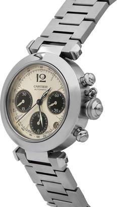 Cartier Pre-Owned 35mm Pasha de Chronograph Watch