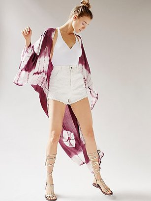Spellbound Tie Dye Kimono by Free People $58 thestylecure.com
