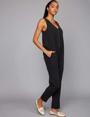 Ingrid & Isabel Pea Collection Zipper Detail Maternity Jumpsuit