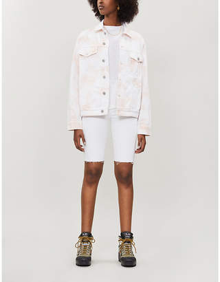 Citizens of Humanity Ilana tie-dye relaxed-fit denim jacket