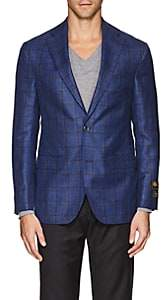 Jack Victor MEN'S PLAID WOOL-BLEND TWO-BUTTON SPORTCOAT