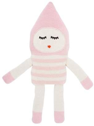 Luckyboysunday Bonbon Rose Alpaca Knit Stuffed Toy