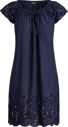 Ralph Lauren Eyelet Cotton Nightgown