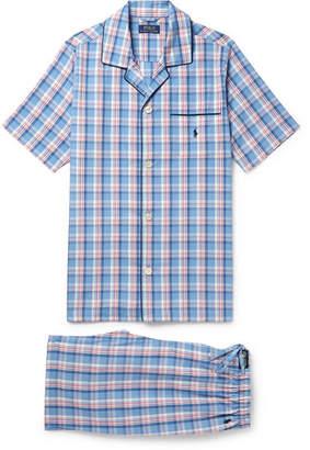 Polo Ralph Lauren Checked Cotton Pyjama Set