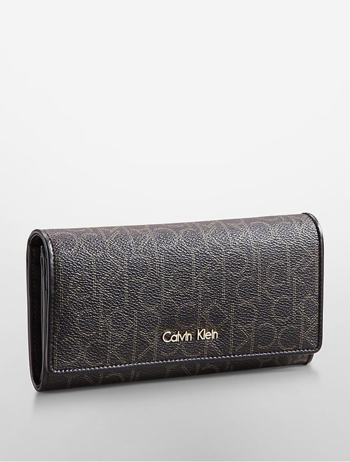 Calvin KleinJordan Flap Envelope Contintental Wallet