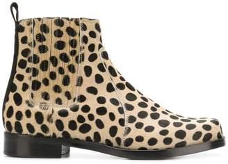 eb468680a1a9 Leopard Print Ankle Boots - ShopStyle UK
