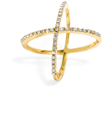 Crystal Mason Ring $32 thestylecure.com