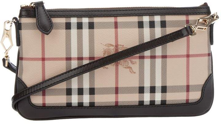 Burberry 'Haymarket' small shoulder bag