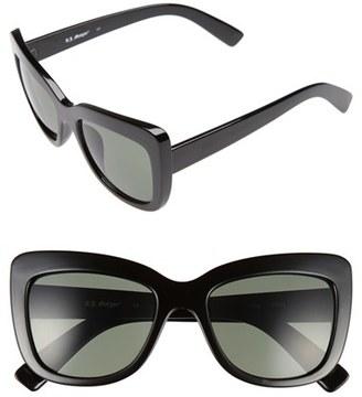 A.J. Morgan 'Lift' 50mm Cat Eye Sunglasses $24 thestylecure.com