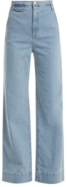Anita high-rise wide-leg jeans