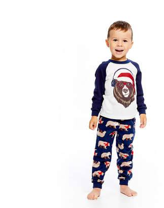 HOLIDAY #FAMJAMS Holiday FAMJAMS Bear 2 Piece Pajama Set - Boy's Toddler