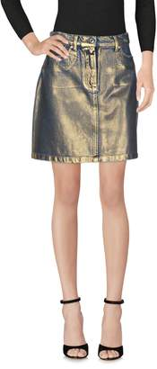 MSGM Denim skirts