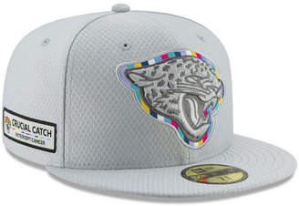 New Era Jacksonville Jaguars Crucial Catch 59FIFTY Fitted Cap