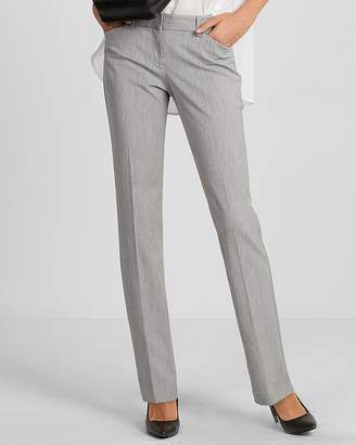 Express Low Rise Straight Leg Editor Pant