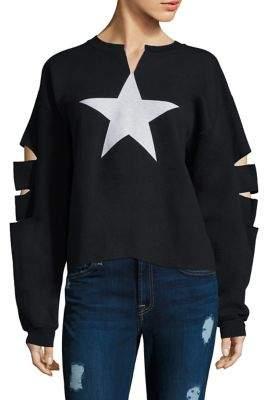 JET Star Hand Cut Sweatshirt