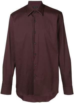 Prada long-sleeve fitted shirt