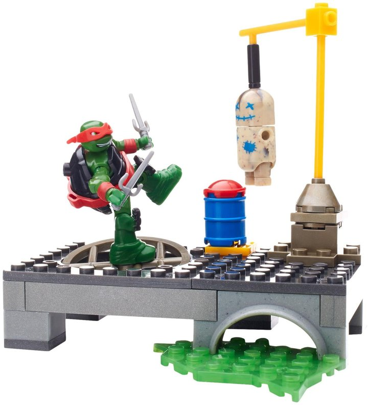 Mega Bloks Teenage Mutant Ninja Turtles Raph Dojo Combat Playset Playset