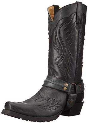 Stetson Men's Biker Outlaw Eagle Work Shoe