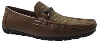 Mecca Duke Men's Bit Buckle Slip-On Loafer Driver Shoes