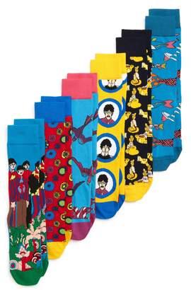 Happy Socks The Beatles Assorted 6-Pack Sock Gift Set