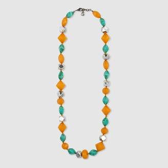 Gucci Resin bead necklace