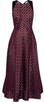 Roland Mouret Cutout Cotton And Silk-Blend Cady Midi Dress