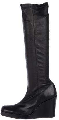 Stephane Kelian Wedge Knee-High Boots