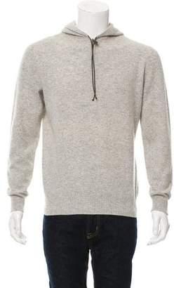 Hermes Wool Half-Zip Sweater