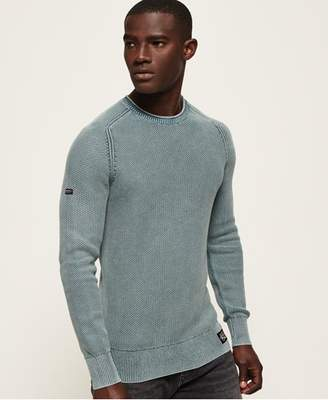 Superdry Garment Dye L.A.Textured Crew Jumper