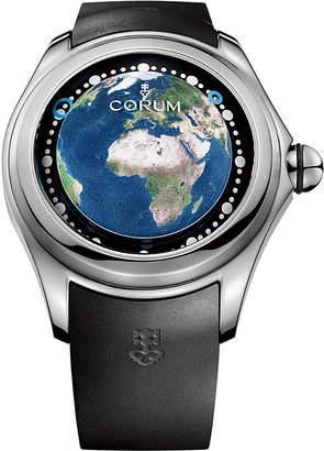 Corum L390-03257 Big Bubble Magical 52 Earth titanium and rubber watch