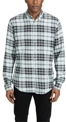 Schnaydermans Schnayderman's Large Check Ombre Shirt