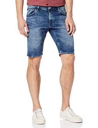 ab01f0f38f Tom Tailor NOS) Men's Baumwoll Denim Jeans Shorts/Kurze Hose, Blue (Light